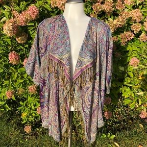 Casual creations open front shawl SP